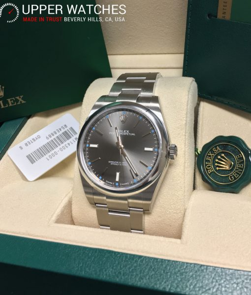 Rolex 114300 Rodhium Dial