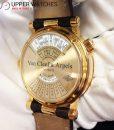 """Van Cleef & Arpels """"Monsieur Arpels"""" 18K YG Dual Time Generational Calendar"""
