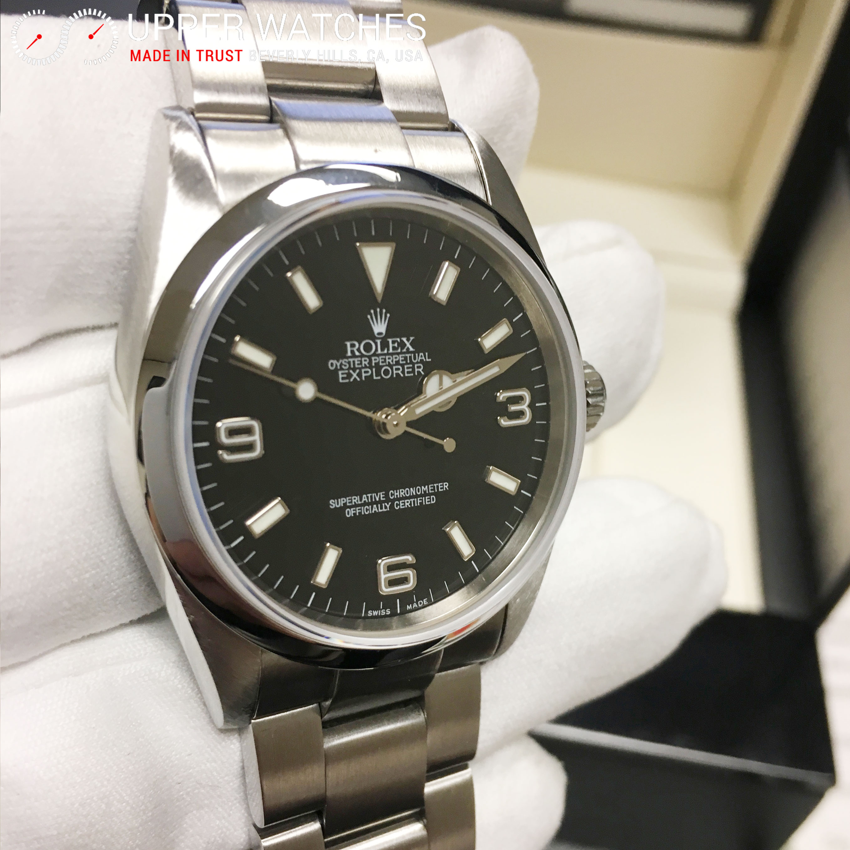 rolex explorer 114270 upper watches
