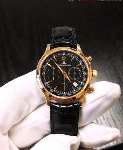 Jaeger LeCoultre Master Chronograph 18k Rose Gold