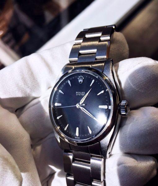 Rolex-6426-Precision-Matte-Black-Dial-1
