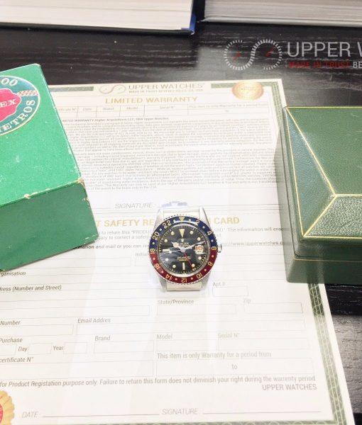 Rolex Vintage GMT Master 6542 No Crown Guard