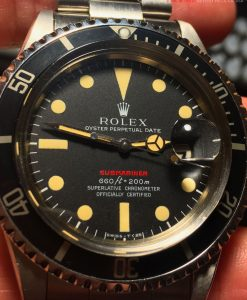 Rolex Red Submariner 1680