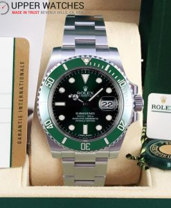 Rolex Submariner 116610 LV Green Submariner