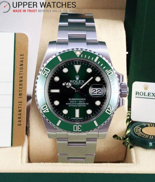 Rolex Submariner 116610 LV Green Submariner