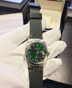 Rolex 1601 Green Hulk Roman Dial