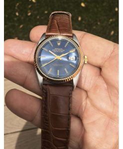 Rolex 1601 Two-Tone Blue Dial