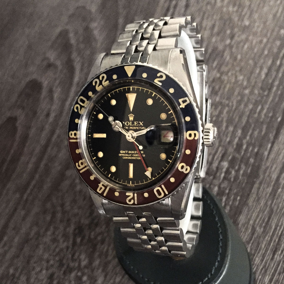 Rolex Vintage Gmt Master 6542 No Crown Guard Upper Watches