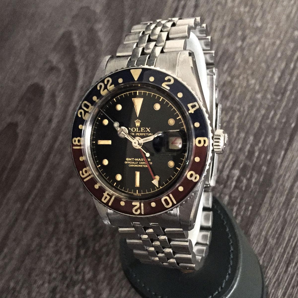 Rolex Vintage GMT Master 6542 No Crown Guard - Upper Watches