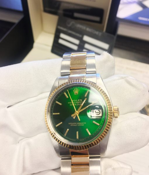 Rolex 1601 Two Tone Datejust Hulk