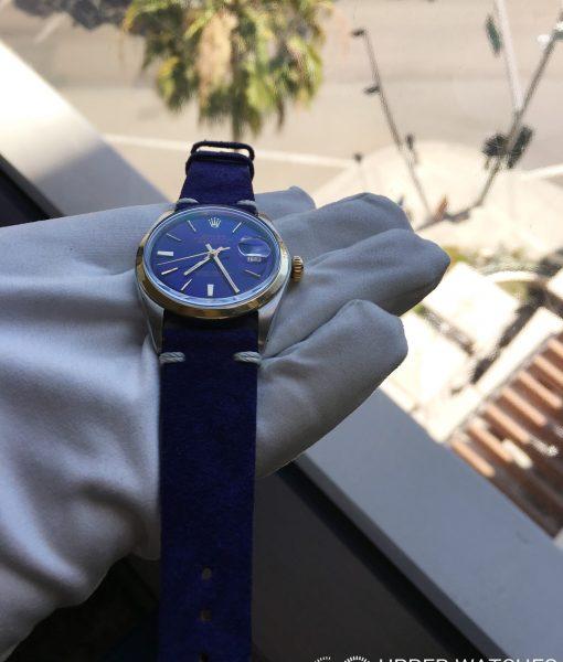Rolex 1601 Blue Dial