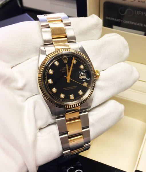 Rolex 1601 Black Diamond