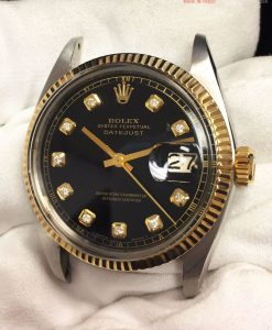 Rolex 1601 Black Diamond