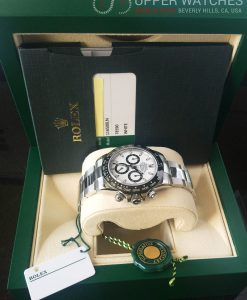 ROLEX DAYTONA 116500LN CERAMIC WHITE DIAL STAINLESS STEEL