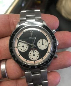 Rolex 6241 Paul Newman Daytona Black Dial 3 colors VINTAGE