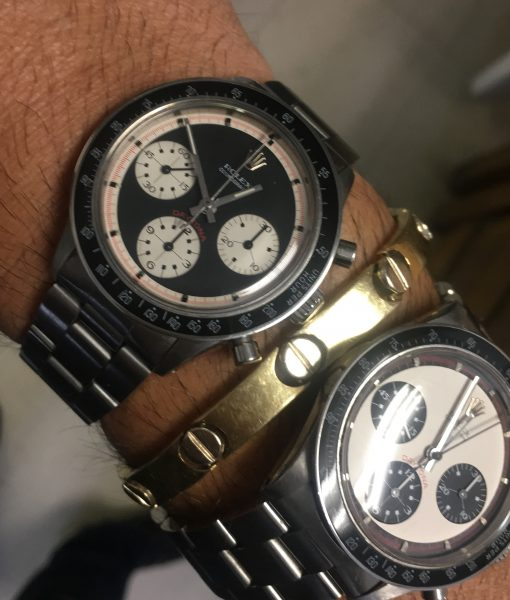 Rolex 6241 Paul Newman Daytona Black Dial 3 colors VINTAGE