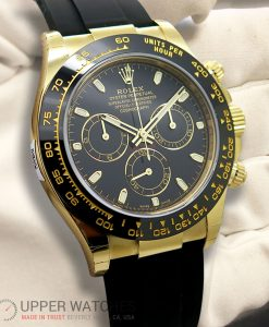 Rolex 116518 LN Cosmograph Daytona 18K Yellow Gold with Black