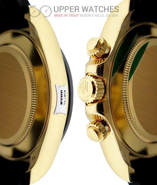 Rolex 116518 LN Cosmograph Daytona 18K Yellow Gold with Black