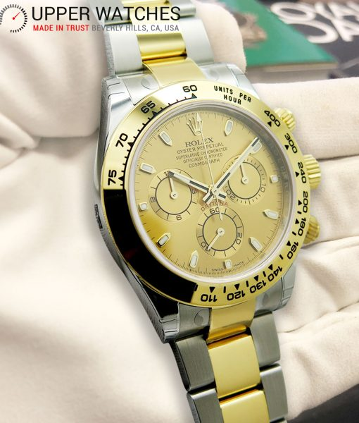 Rolex Daytona 116503 Stainless Steel and Yellow Gold - Full Set untuched with Plastic