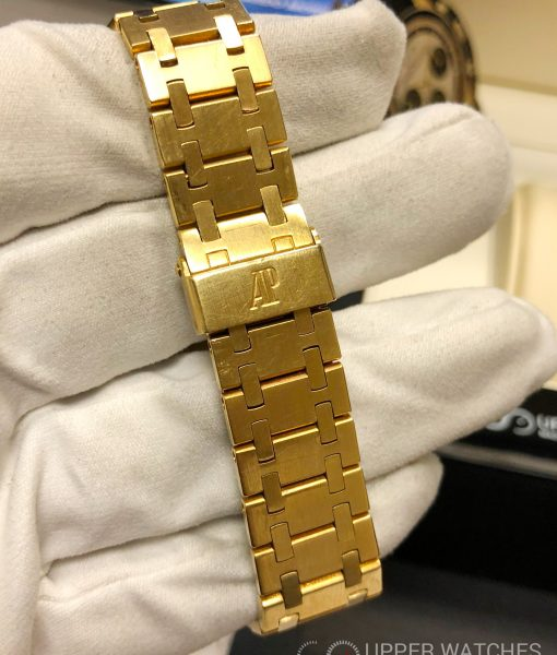 Audemars Piguet, royal Oak, 18k, yellow Gold, 5402, royal oak 5402, vintage, collectible,