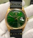 ROLEX DAY-DATE PRESIDENT SOLID GOLD 18K 18038 2 YEARS WARRANTY BOX MEN