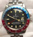 Rolex dial long E 1675 GMT MASTER