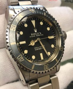 ROLEX 5513 METER FIRST FADED INSERT VINTAGE CIRCA 1966with Box