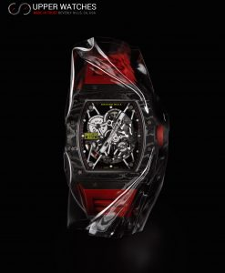 Richard Mille Carbon RAFA RM3502 Black, RED band