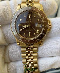 Rolex 1675 GMT-Master 18k Gold Auto Jubilee Bracelet FULL SET from 1972