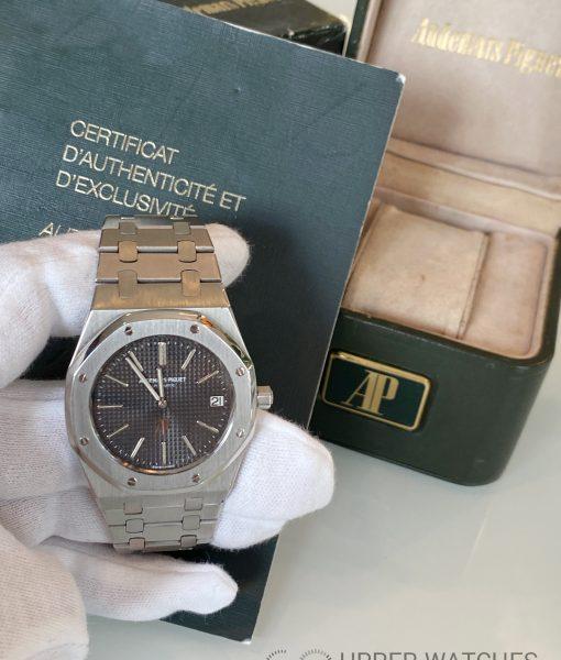 Audemars Piguet Royal Oak 5402ST C series Box and Audemars Piguet Certificat