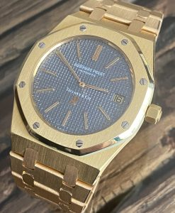 Tiffany&Co Audemars Piguet Royal Oak Jumbo 39mm Vintage Yellow Gold BA5x 1977